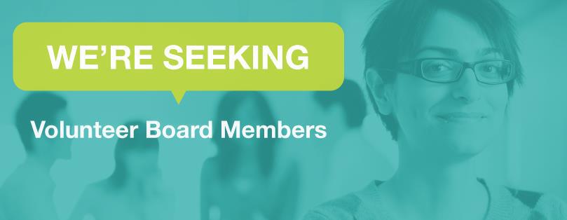 Volunteer for the Board of Directors