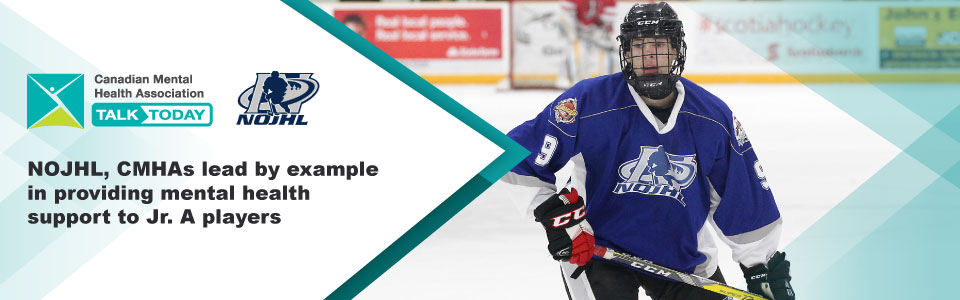 NOJHL, CMHAs Lead by Example; Other Leagues Follow Suit to Provide Mental Health Support to Jr. A Players