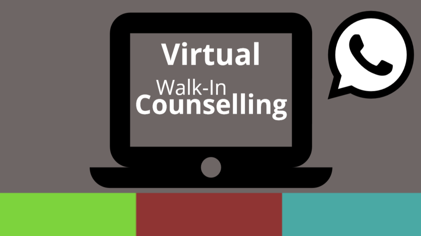 Virtual Walk-In Counselling Now Available